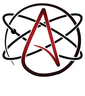 Atheist Symbol Sticker